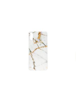 Smartphonehoesje iPhone X / XS | Marmerlook