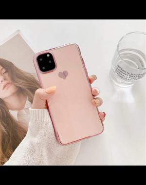 Smartphonehoesje iPhone X / XS | Poederroze