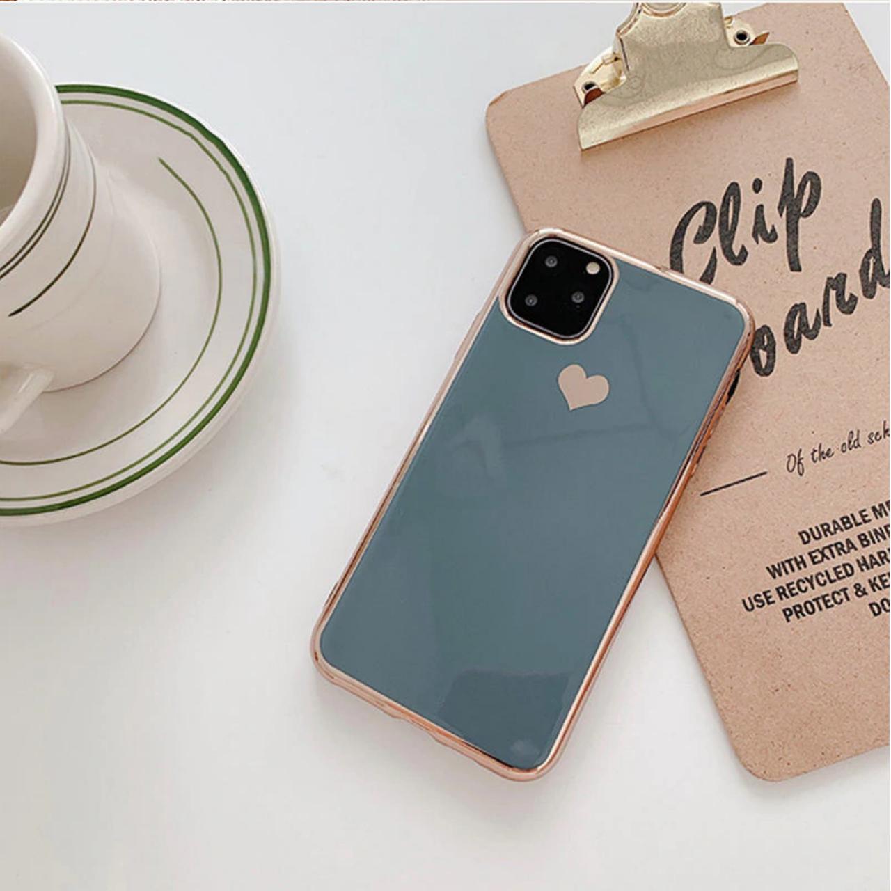 Smartphonehoesje iPhone XS Max | Groen/blauw