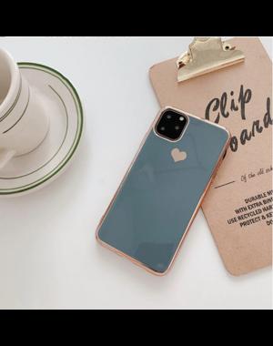 Smartphonehoesje iPhone X / XS   Groen/blauw