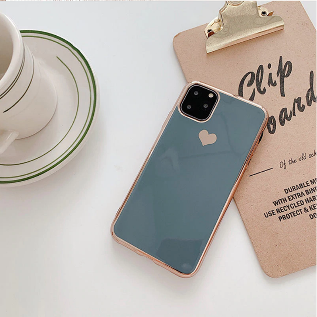 Smartphonehoesje iPhone XR | Groen/blauw
