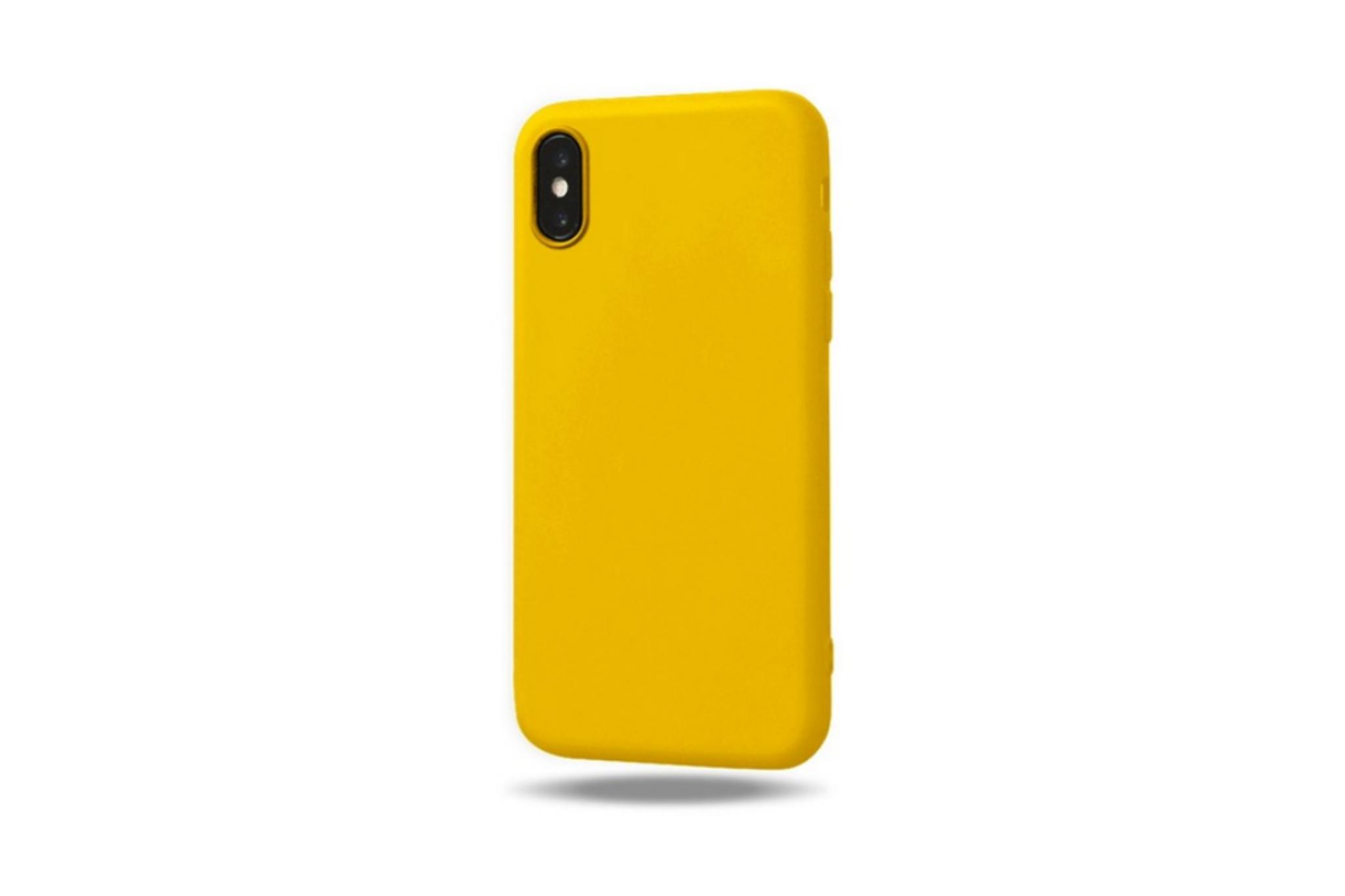 Smartphonehoesje iPhone XS Max | Geel