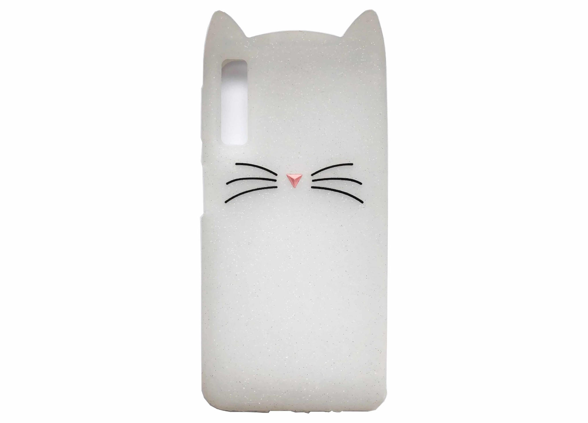 Smartphonehoesje Samsung A7 | Dieren (Kat) | Wit