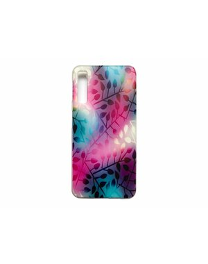 Smartphonehoesje Samsung A7 | Bloemenprint | Multicolor