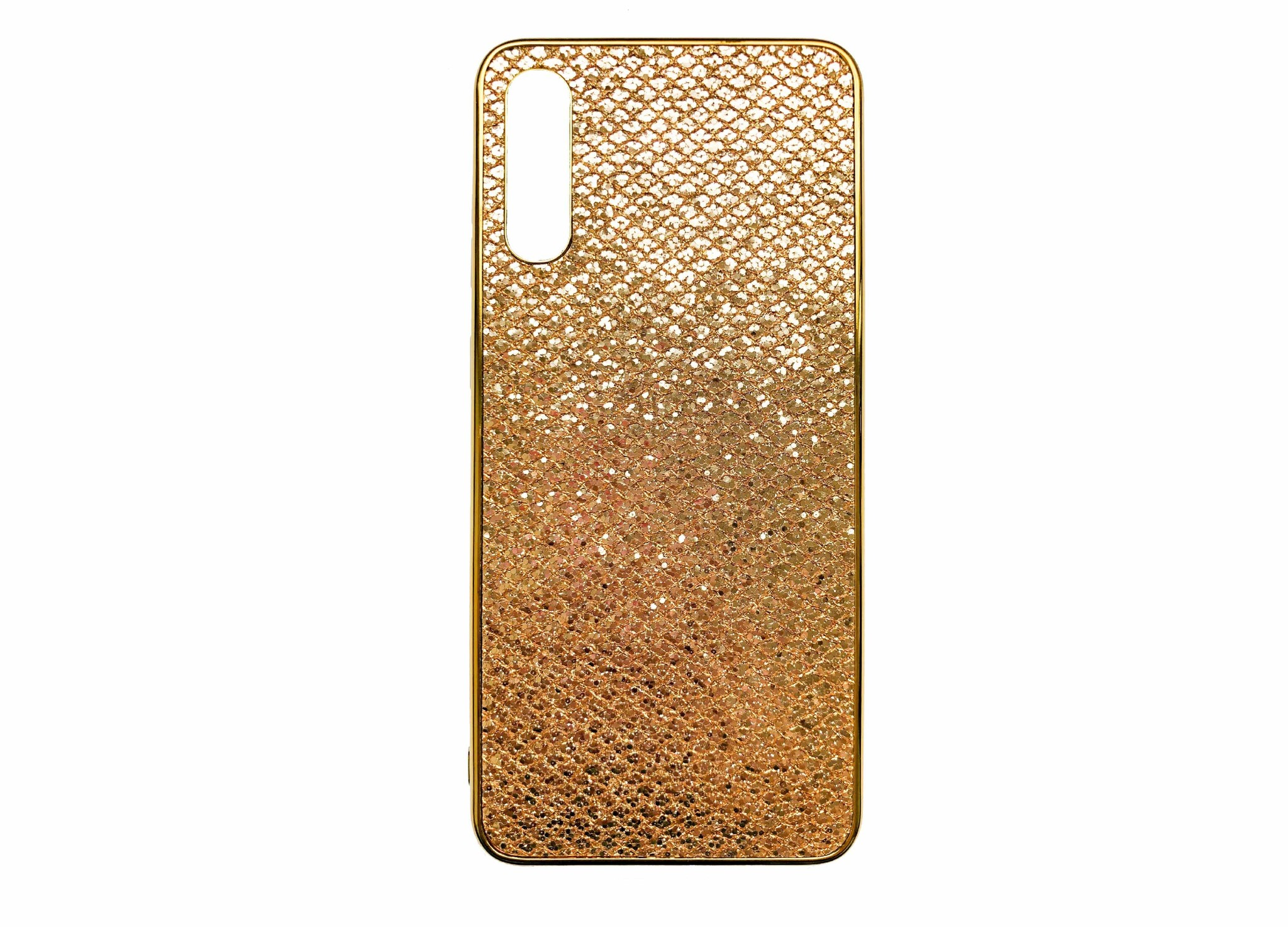 Smartphonehoesje Samsung A50 | Bling Goud