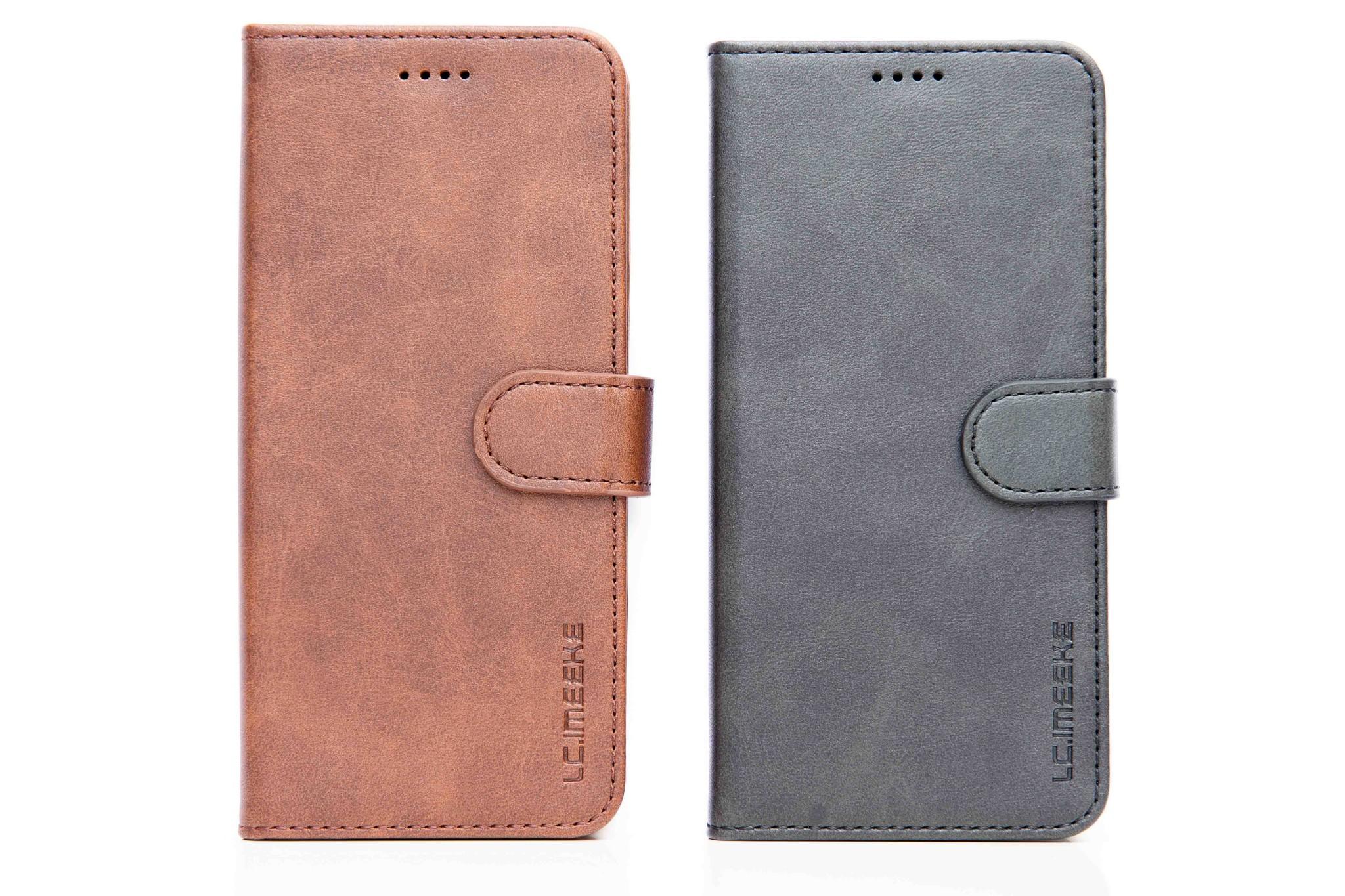 Smartphonehoesje iPhone 11 | Portemonnee grijs