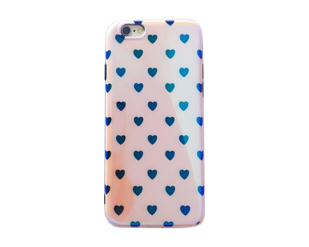 Smartphonehoesje iPhone 7 plus / 8 plus | Hartjes print