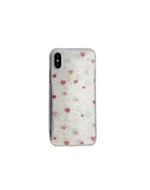 Smartphonehoesje iPhone 6s | Transparant met kleine hartjes