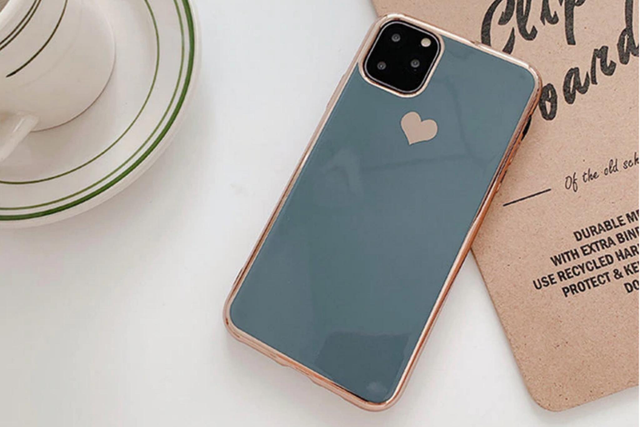 Smartphonehoesje iPhone 11 Pro | Groen/blauw