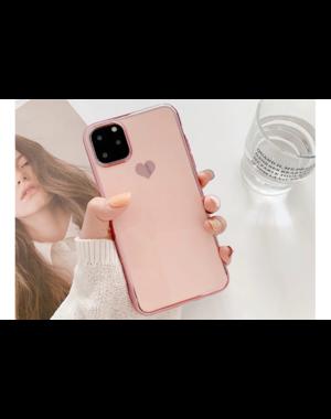 Smartphonehoesje iPhone 11 Pro Max | Poederroze