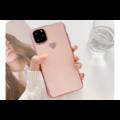 Smartphonehoesje iPhone XS Max   Poederroze