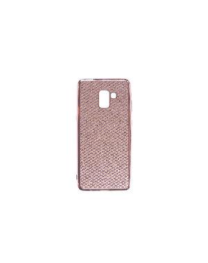 Smartphonehoesje Samsung A8 | Plus| 2018 | Bling met glitters