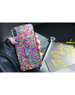 Smartphonehoesje iPhone 6s Plus | Bling met glitters