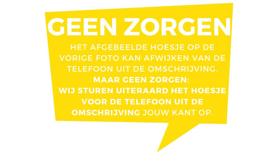 Smartphonehoesje iPhone 7 / 8 plus | Marmerlook | Wit / Zwart