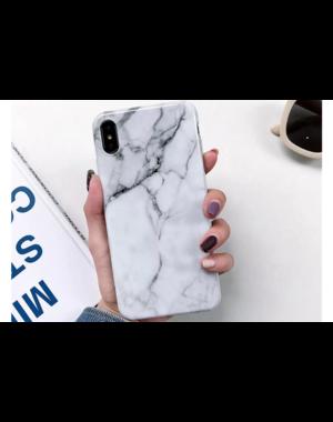 Smartphonehoesje iPhone XR   Marmerlook