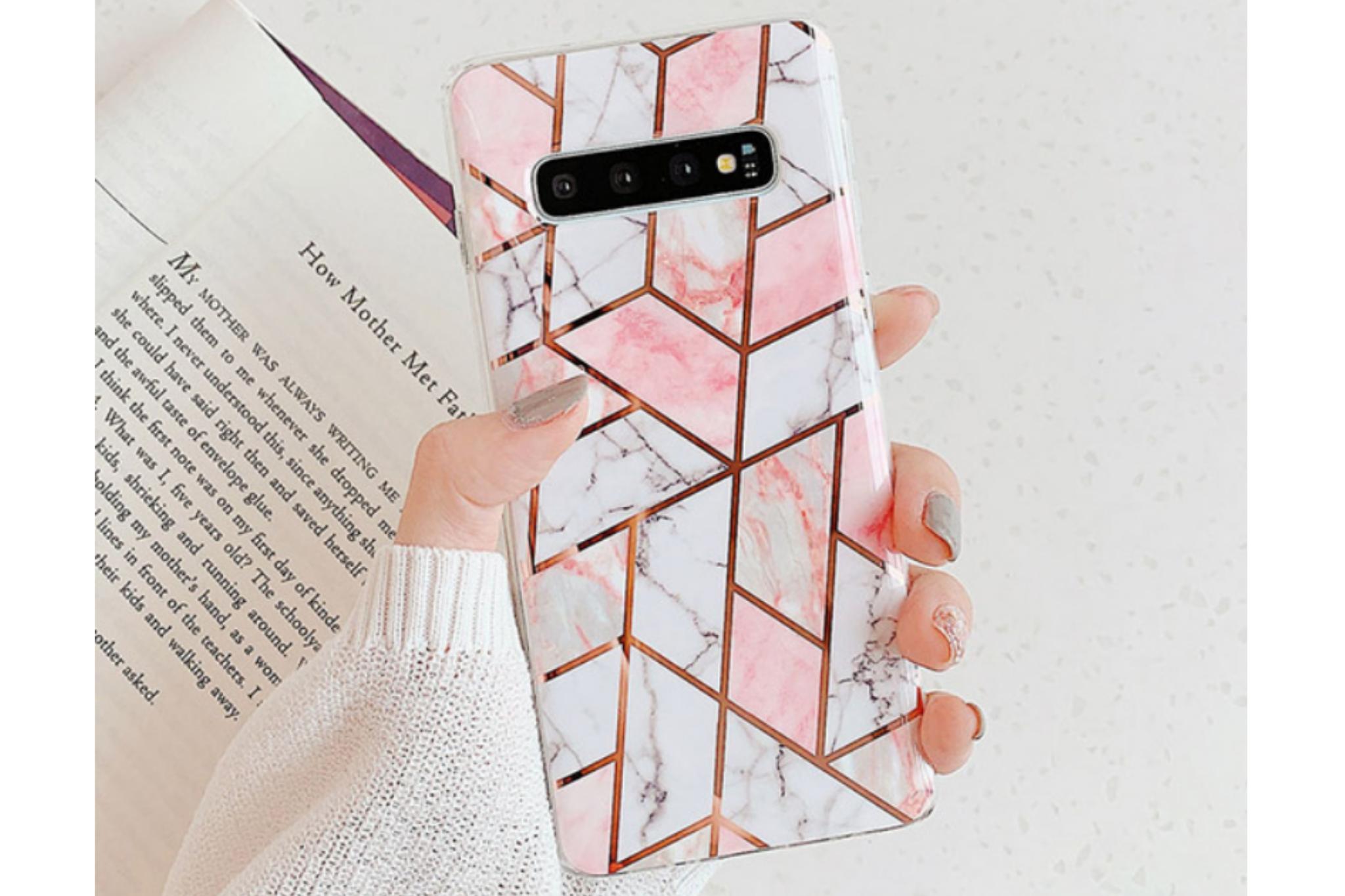 Smartphonehoesje Samsung S9 | Design patroon | Roze