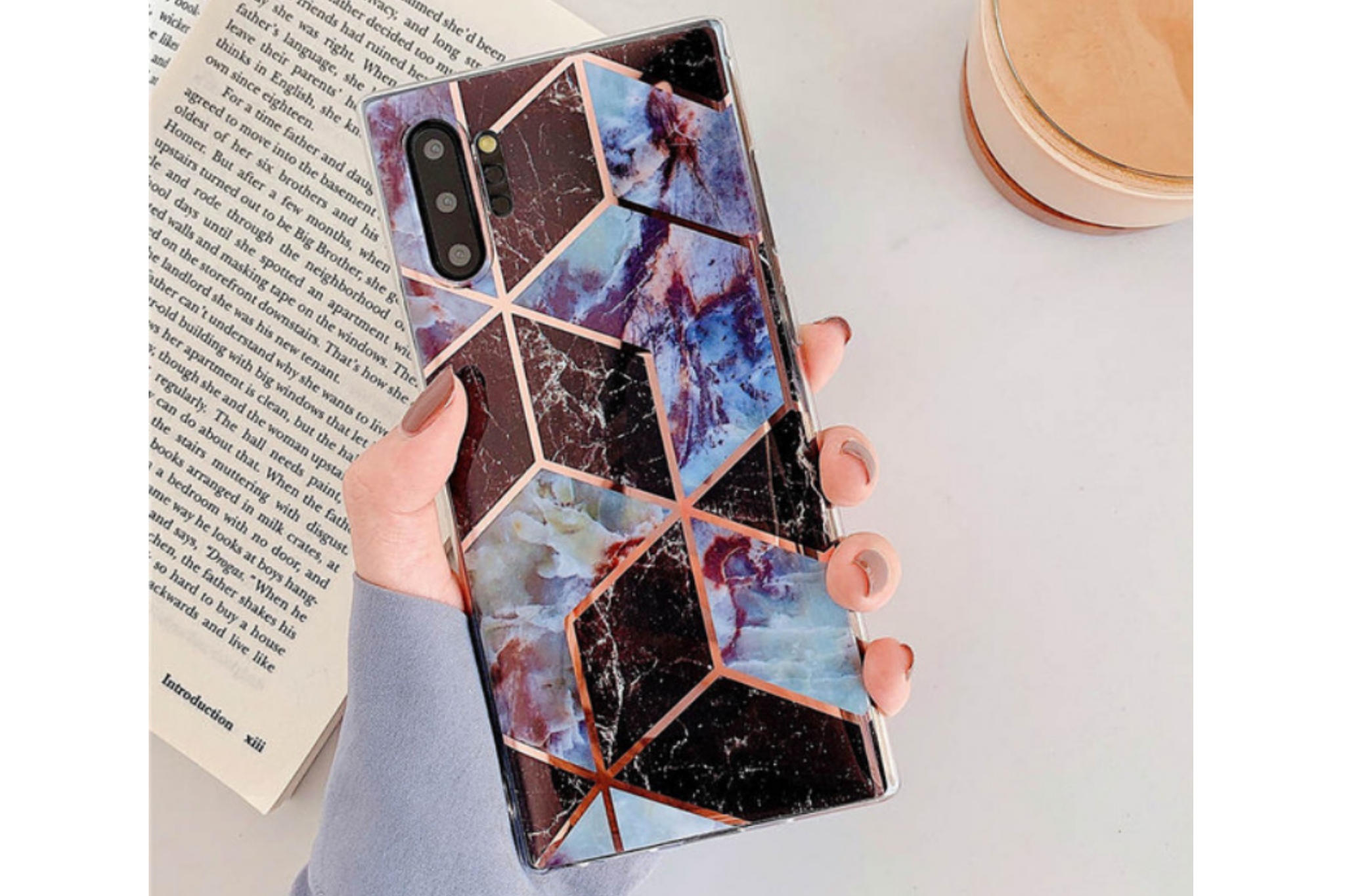 Smartphonehoesje Samsung Note 10 | Design patroon | Multicolor