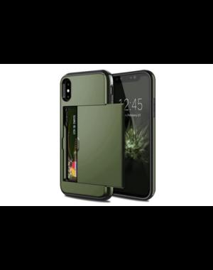 Smartphonehoesje iPhone X / XS   Pasjesschuif