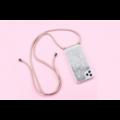Smartphonehoesje iPhone XR | Koord en glitter