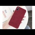 Ribstof telefoonhoesje iPhone 11 Pro | Rood