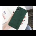 Ribstof telefoonhoesje iPhone XS Max