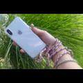 Transparant hoesje iPhone X / XS | Incl. Roze + bruin koord