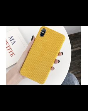 Ribstof telefoonhoesje iPhone X / XS