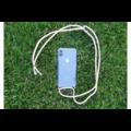 Transparant hoesje iPhone 7 plus / 8 plus | Incl. roze koord