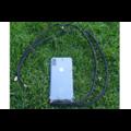 Transparant hoesje iPhone 11 Pro | Incl. zwart koord
