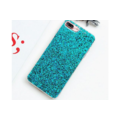 Smartphonehoesje iPhone 7 plus / 8 plus | Groene glitters