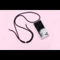 Smartphonehoesje iPhone XR | Koord en glitters
