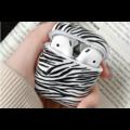 AirPods hoesje / case | Zebraprint