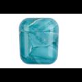 AirPods hoesje / case | Marmerlook Aqua