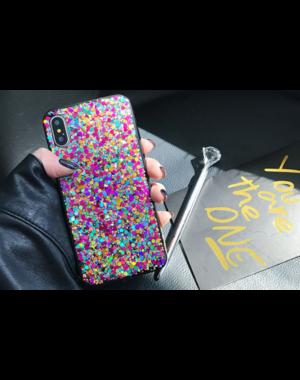 Smartphonehoesje iPhone 7 / 8  Plus | Bling met glitters