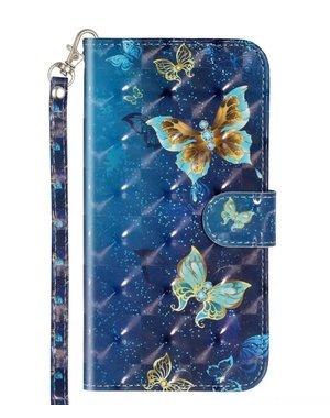 Smartphonehoesje Samsung A51 | Portemonnee (flipcase) | Vlinders