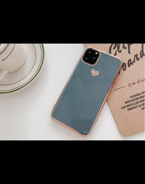 Smartphonehoesje iPhone 12 Mini | Groen/blauw