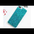 Smartphonehoesje iPhone 12 (Pro) | Groene glitters