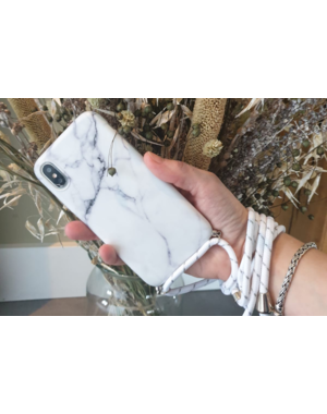 Marmerlook hoesje iPhone 7 / 8 | Incl. koord