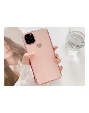 Smartphonehoesje iPhone 12 (Pro)   Poederroze