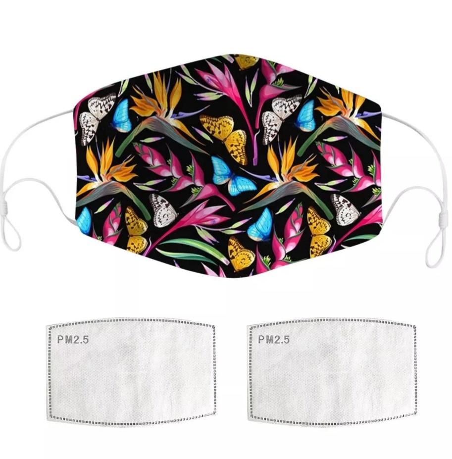 Mondkapje | Fleurig | Design