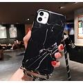 Marmerlook hoesje iPhone X / XS | Incl. koord