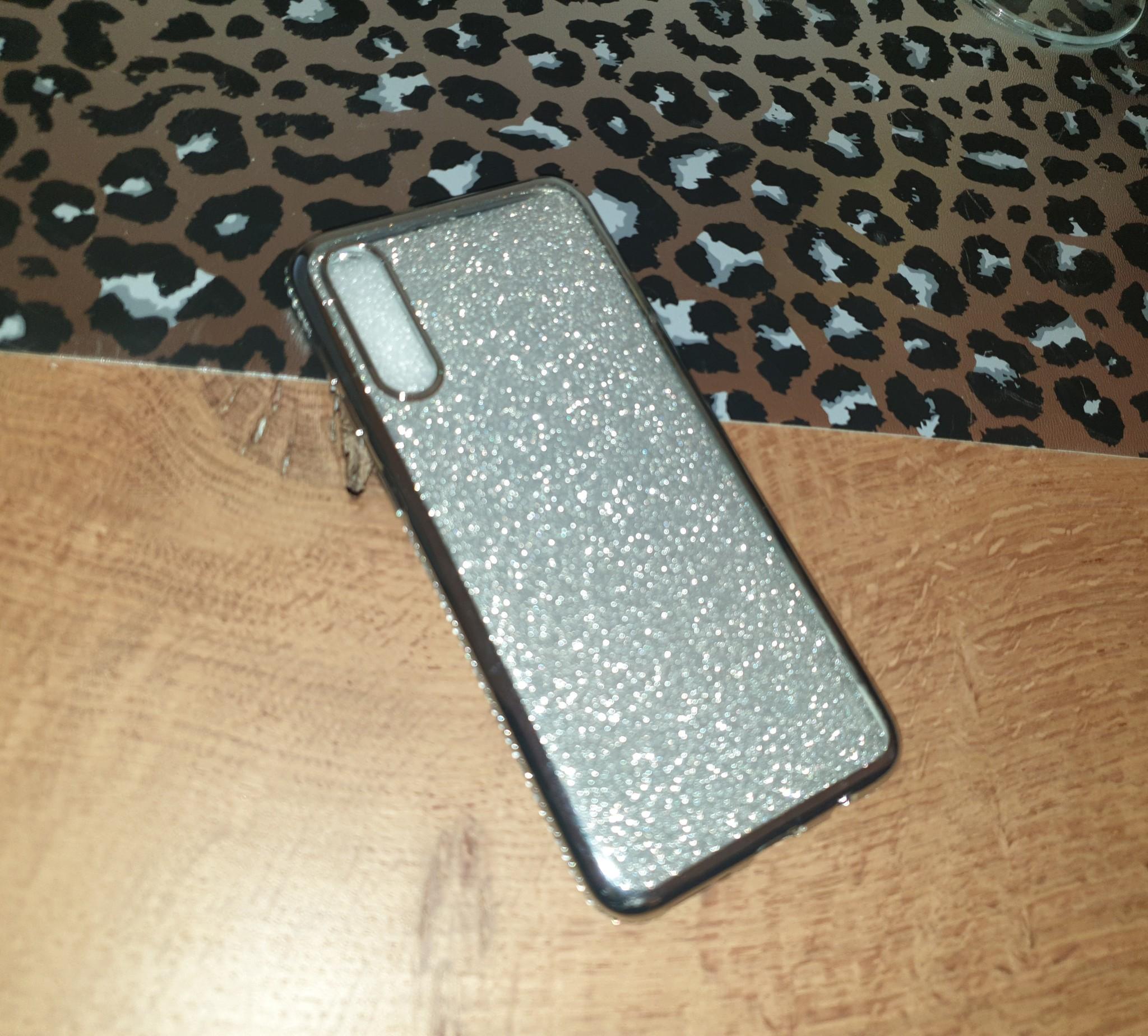 Smartphonehoesje Samsung A50 | Bling | Zilver