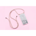 Smartphonehoesje iPhone 12 Mini | Koord en glitter
