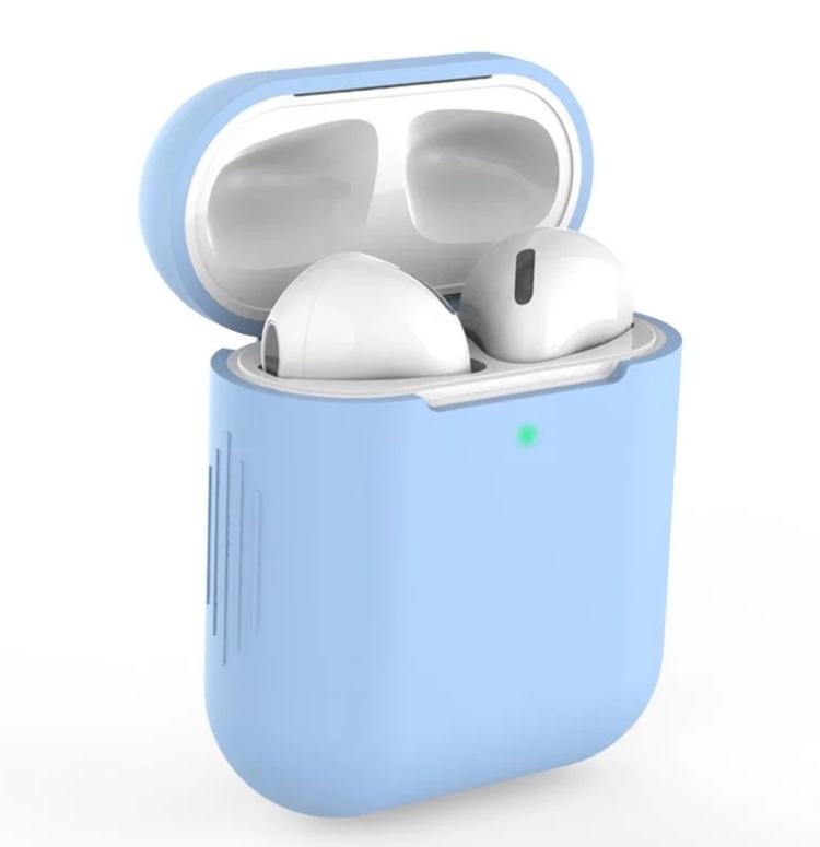 AirPods hoesje / case | Lichtblauw