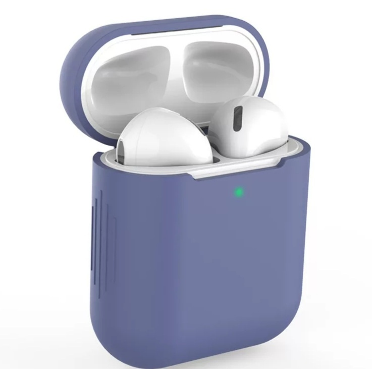 AirPods hoesje / case   Paars/Blauw