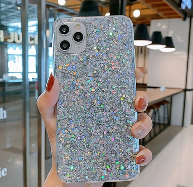 Smartphonehoesje iPhone 11 Pro | Met zilveren glitters