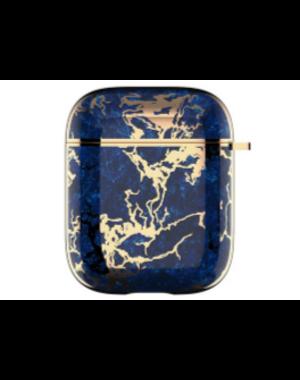 AirPods hoesje / case |  Chique blauw/goud