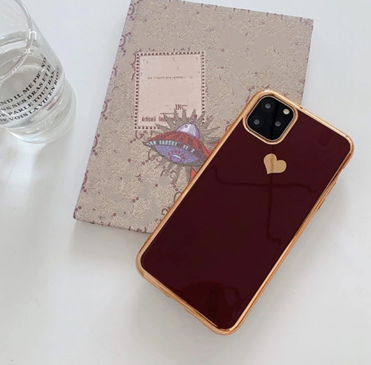 Smartphonehoesje iPhone 11 | Bordeauxrood