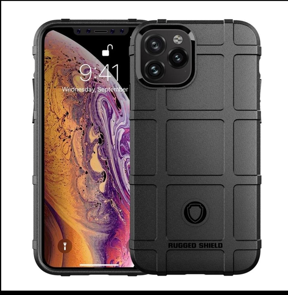 Smartphonehoesje iPhone 12 (Pro) | Shockproof | black
