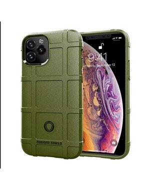 Smartphonehoesje iPhone 12 (Pro) | Shockproof | Robuust | Green